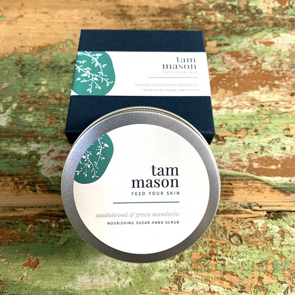 Sandalwood & Green Mandarin hand scrub
