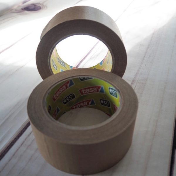 Paper packaging tape eco friendly parcel tape