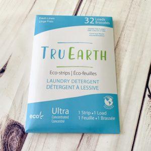Eco friendly laundry strips