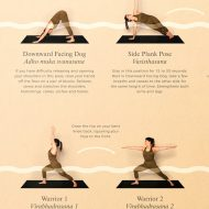 Yoga flow close up