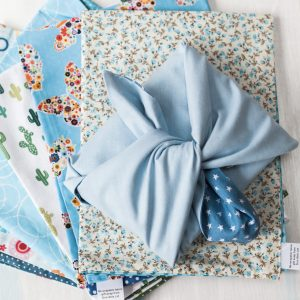 re-wrapable fabric gift wrap