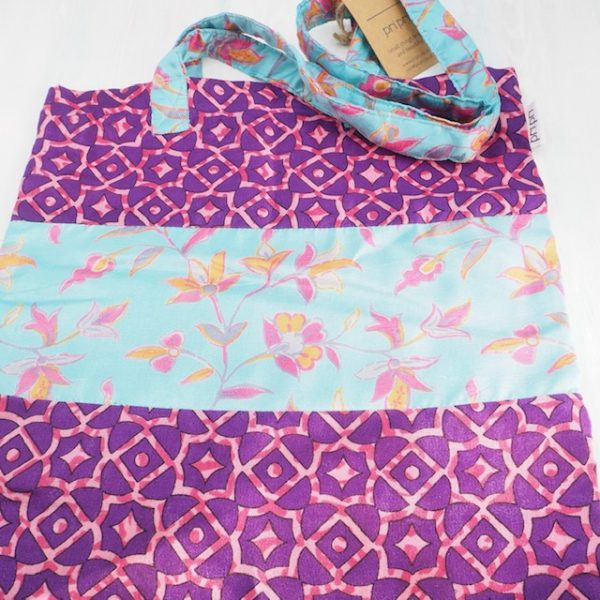 Upcycled tote bags