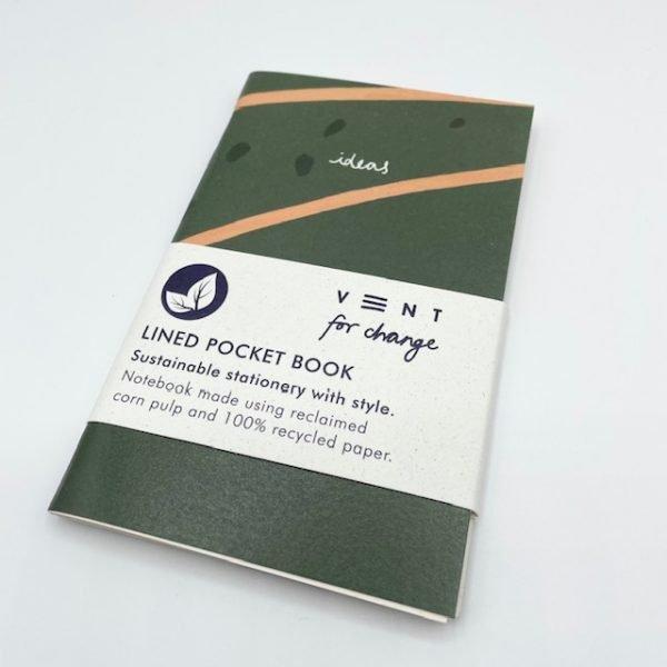 Lined pocketbook